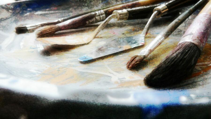 Art Supplies Textured 2011