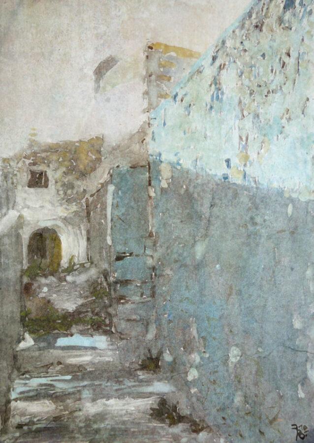 Blue Entrance Texture 2010