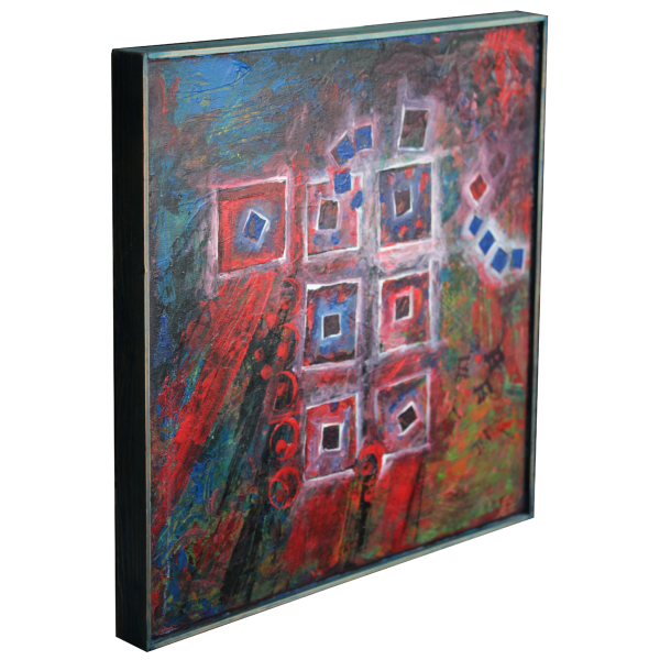 shared 2012 acryl painting abstract canvas