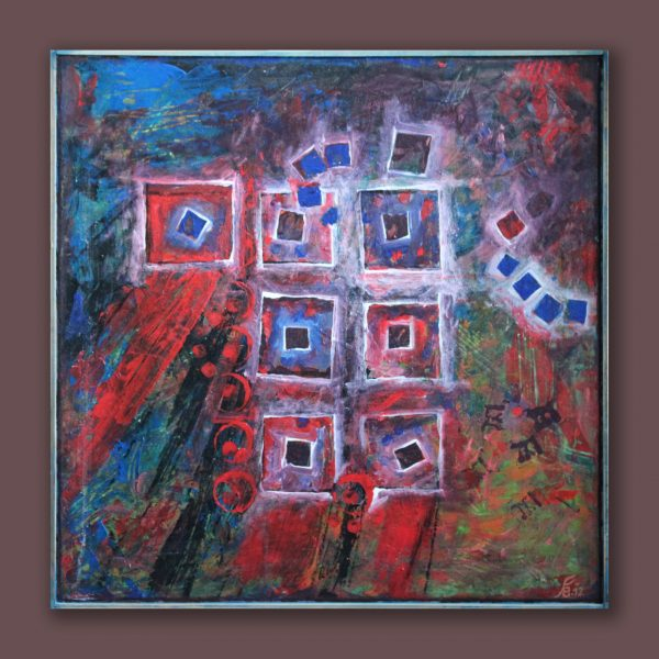 shared acryl painting abstract canvas