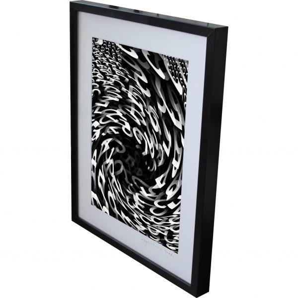 orientation twirl photography black and white digital art
